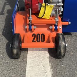 Демаркировочная машина, демаркировщик дорожной разметки LATOKHO, передние колеса